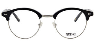 Moscot Aidim - T49 Black Silver Demonstration Lens